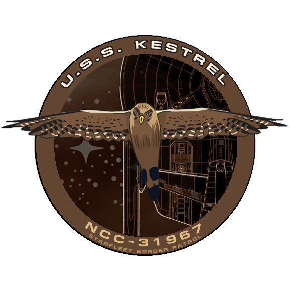 Kestrel badge