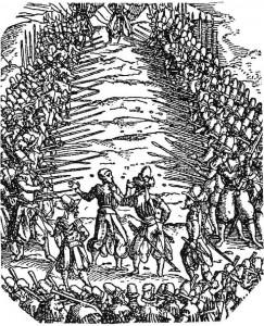 Spiessgasse_Frundsberger_Kriegsbuch_Jost_Ammann_1525