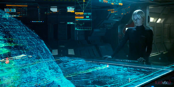 Holographic tactical displays - Battleships come to life!