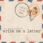 Day #1 Write a Letter Challenge